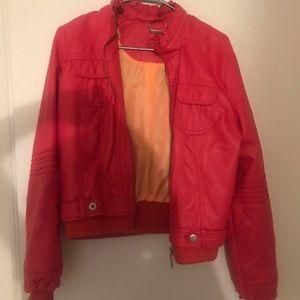 Jackets & Blazers - Two tone bomber jacket